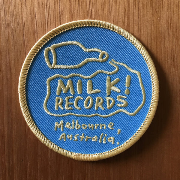 MILK! RECORDS milk logo PATCH