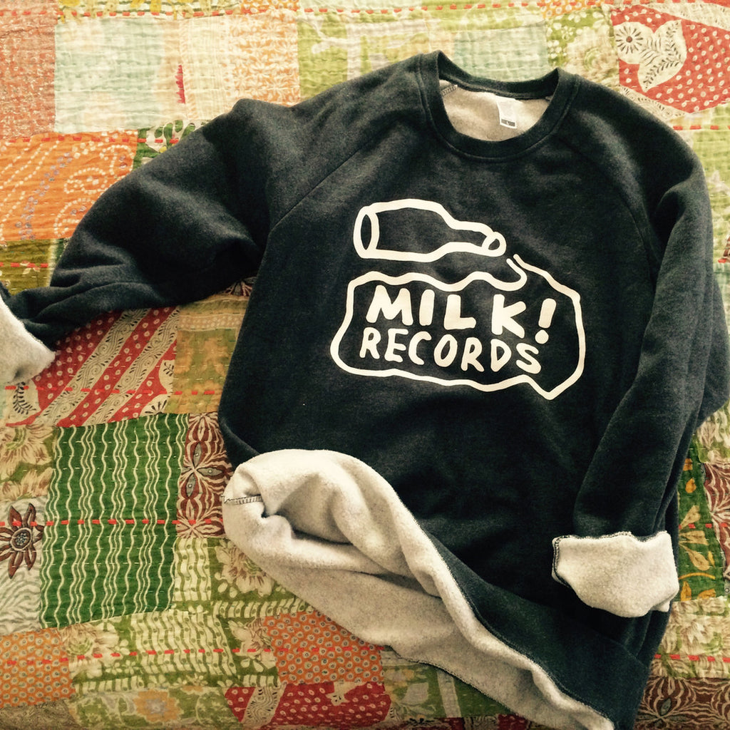 MILK! RECORDS Milk Logo JUMPER. JUMPER. Official merchandise exclusive to Milk! Records Store.