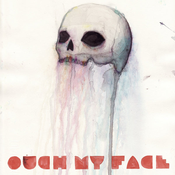 OUCH MY FACE Self Titled EP. CD, DIGITAL. Official merchandise exclusive to Milk! Records Store.