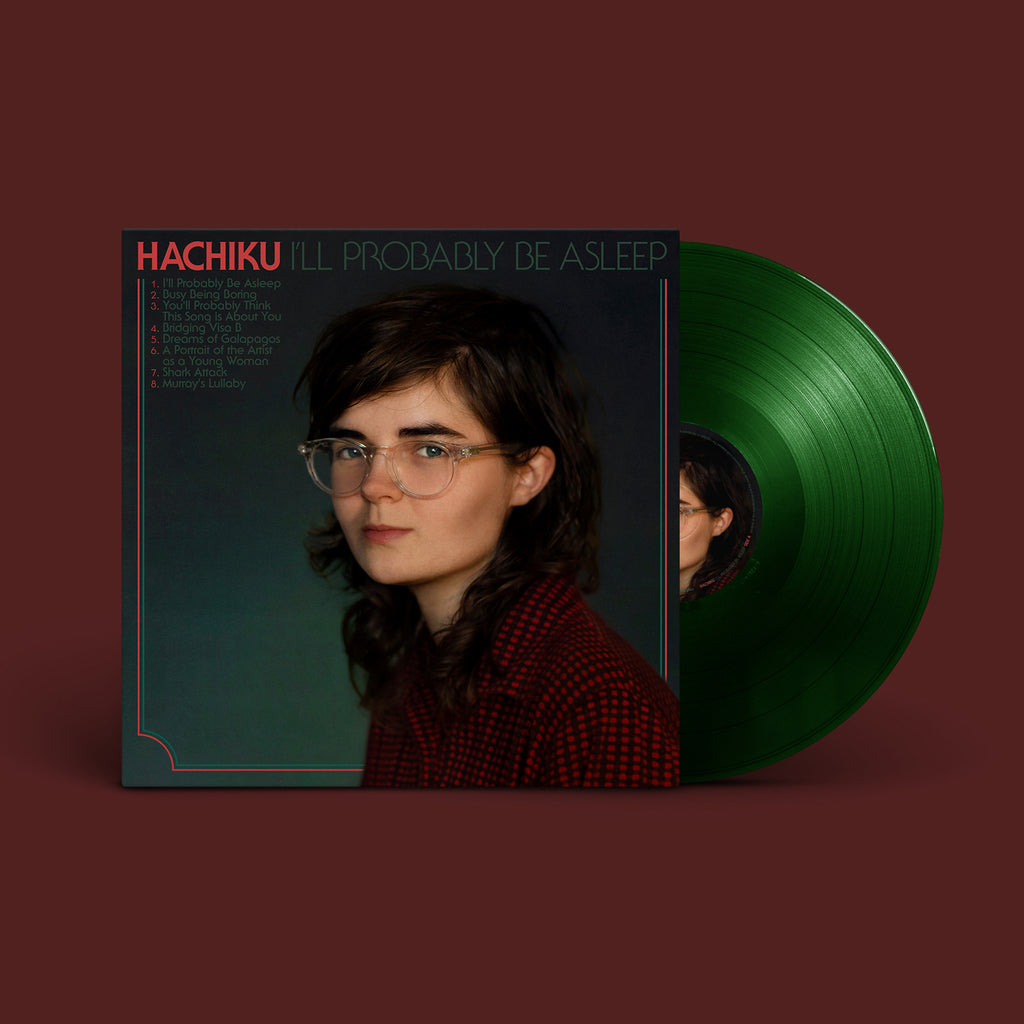 "HACHIKU I'll Probably Be Asleep 12"" VINYL"