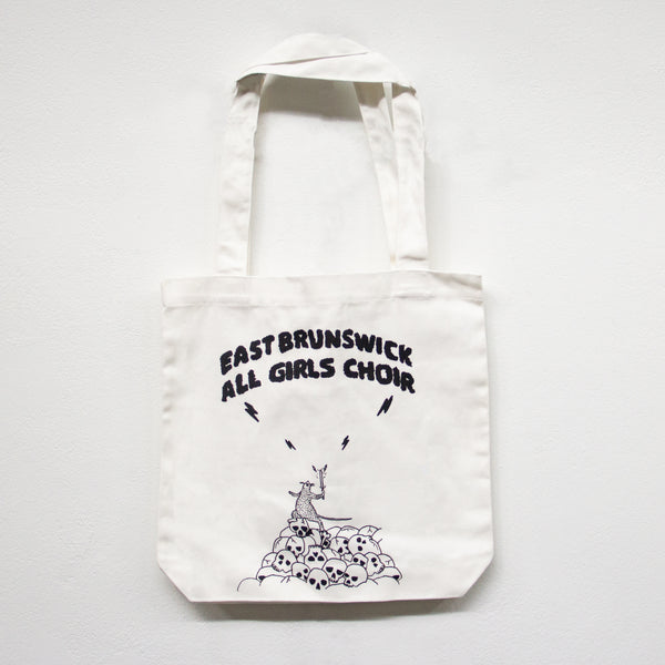 EAST BRUNSWICK ALL GIRLS CHOIR Rat Wizard TOTE [WHITE]