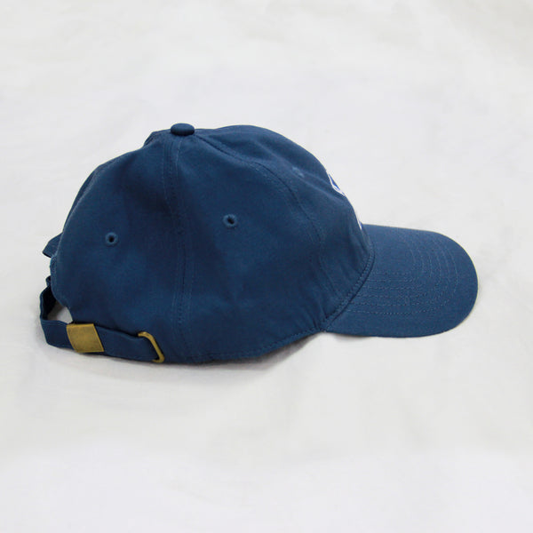 MILK! RECORDS six panel HAT [WASHED BLUE]