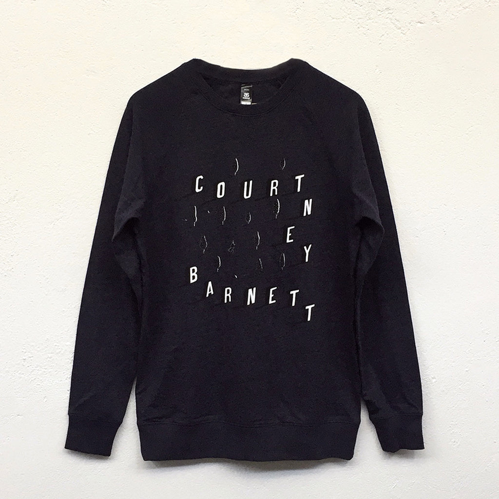 "COURTNEY BARNETT ""I Wanna Walk"" by Rose Blake JUMPER [NAVY MARLE]"