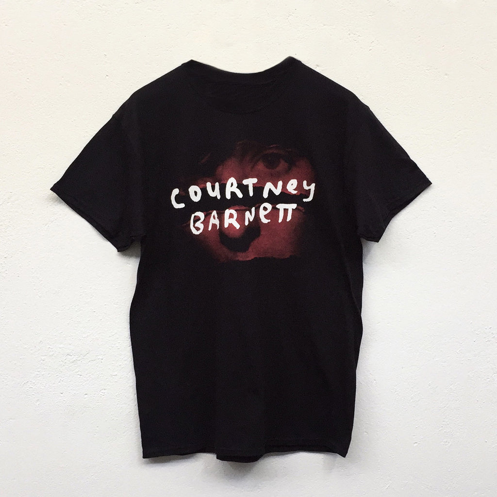 "COURTNEY BARNETT ""Tell Me Tour Tee"" TSHIRT [BLACK]"