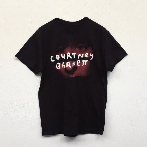 "COURTNEY BARNETT ""Tell Me Australian Tour Tee"" TSHIRT [BLACK]"