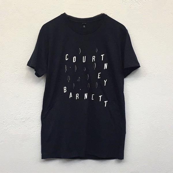 "COURTNEY BARNETT ""I Wanna Walk"" by Rose Blake TSHIRT [NAVY MARLE]"