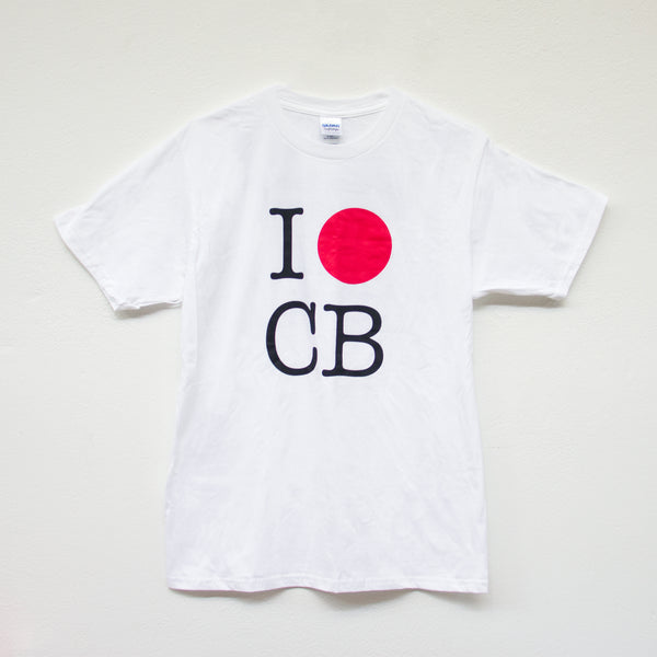 "COURTNEY BARNETT ""I LUV CB"" TSHIRT [JAPAN TOUR]"
