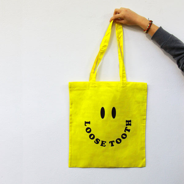 LOOSE TOOTH Smileys TOTE BAG
