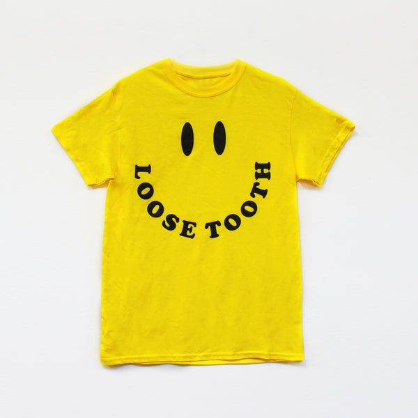LOOSE TOOTH Smileys TSHIRT [YELLOW]
