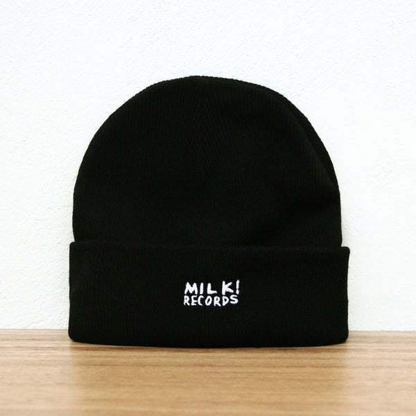 MILK! RECORDS Beanie [BLACK]