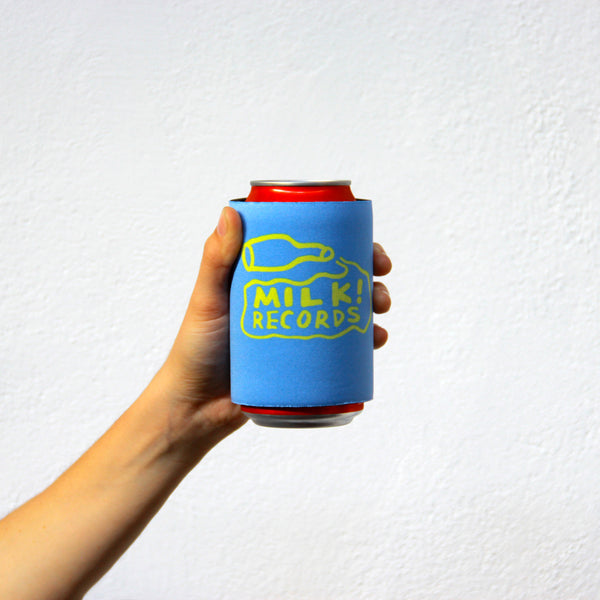 MILK! RECORDS stubby holder [BLUE]