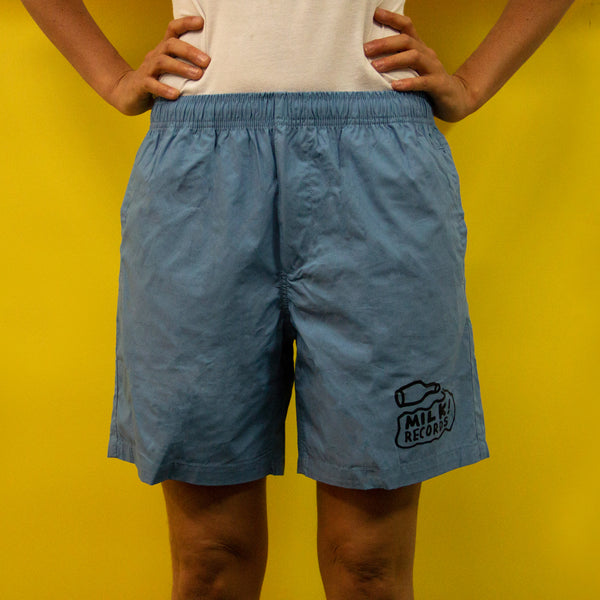 MILK! RECORDS Beach Shorts [CAROLINA BLUE]