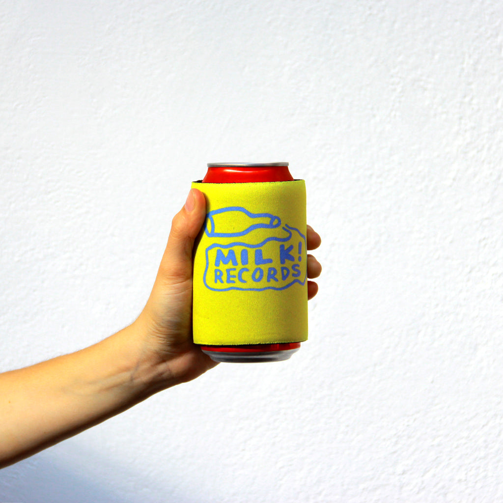 MILK! RECORDS stubby holder [YELLOW]