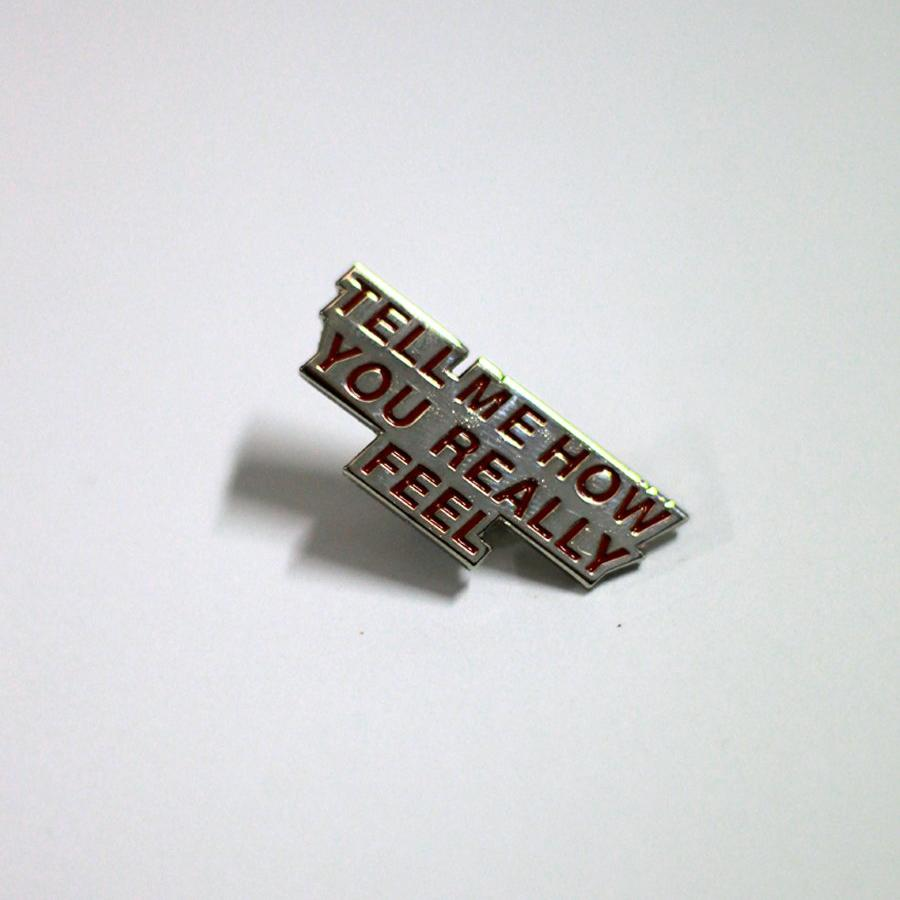 COURTNEY BARNETT Tell Me How You Really Feel PIN