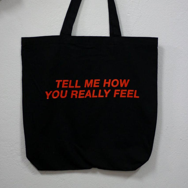 COURTNEY BARNETT Tell Me How You Really Feel TOTE BAG