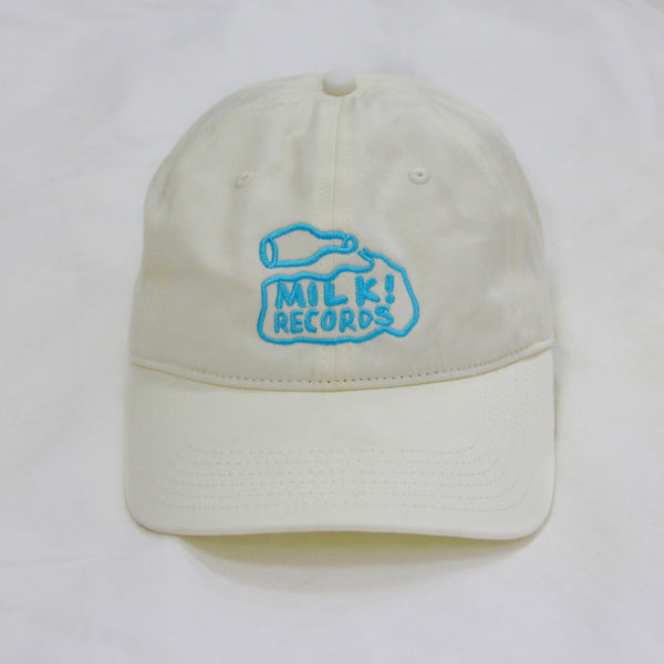 MILK! RECORDS six panel HAT [WHITE]