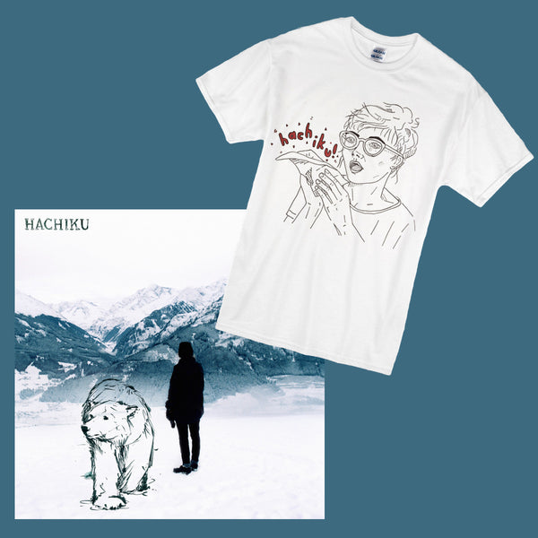HACHIKU Tshirt + EP (digital) BUNDLE