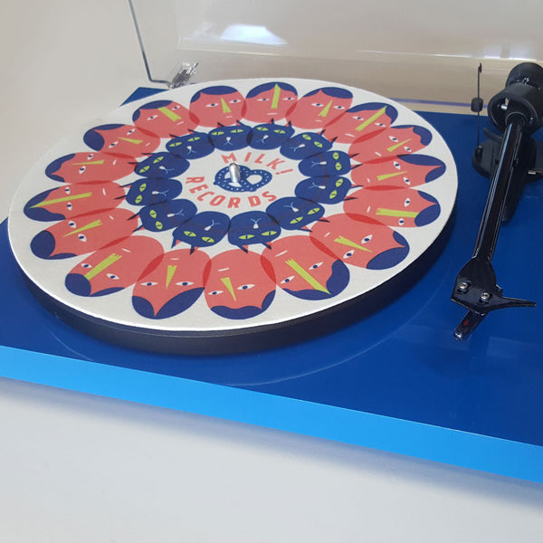 MILK! RECORDS Pretzel Portal SLIPMAT. . Official merchandise exclusive to Milk! Records Store.