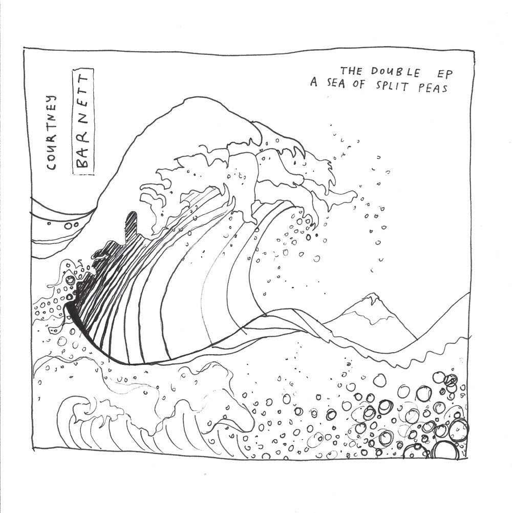 "COURTNEY BARNETT The Double EP: A Sea Of Split Peas. 12"" VINYL, CASSETTE, CD, DIGITAL. Official merchandise exclusive to Milk! Records Store."