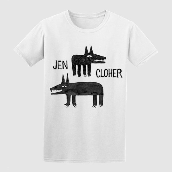JEN CLOHER Minna Leunig TSHIRT. TSHIRT. Official merchandise exclusive to Milk! Records Store.