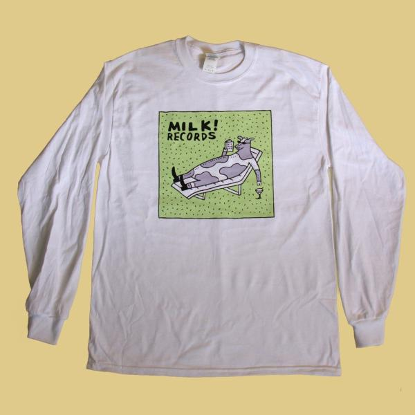 MILK! RECORDS Steph Hughes [ARTIST SERIES] LONG SLEEVE TSHIRT