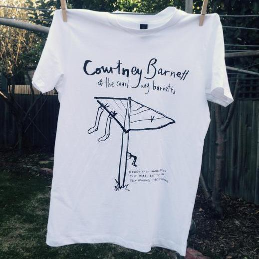 COURTNEY BARNETT Hills Hoist TSHIRT [WHITE]
