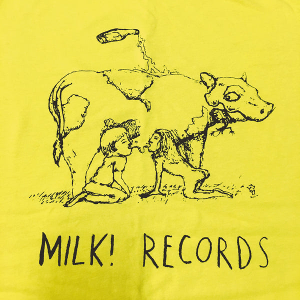 MILK! RECORDS Cow - Justin Street [ARTIST SERIES] TSHIRT *LAST SIZES*