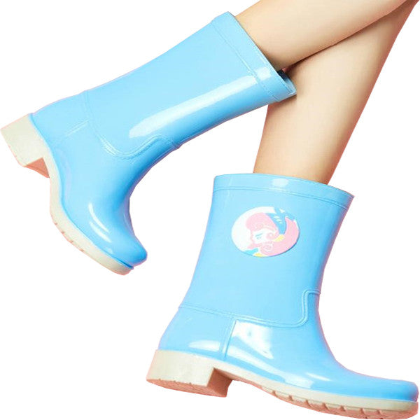 Girl Power Rainboots