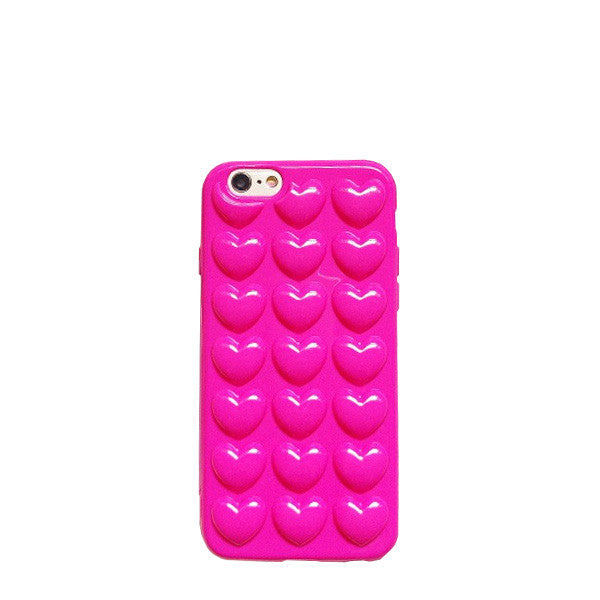 Bubble Heart iPhone Case (2 Colors)