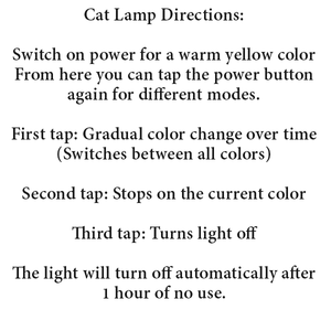 Cat Lamp (3 Styles)