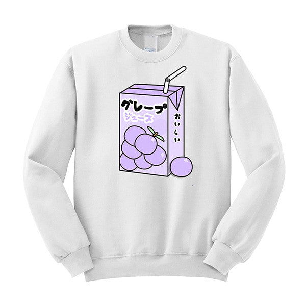 Grape Juice Sweater