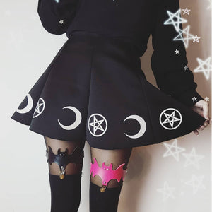 Witchy Moon Skirt (2 Colors)