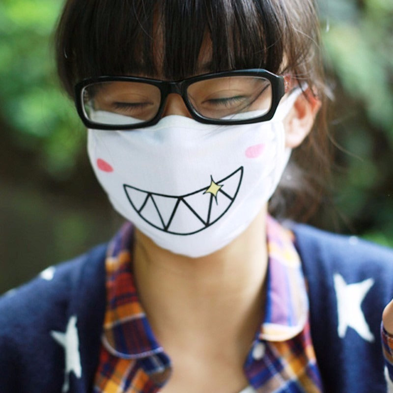 Kawaii Face Mask (13 Varieties)
