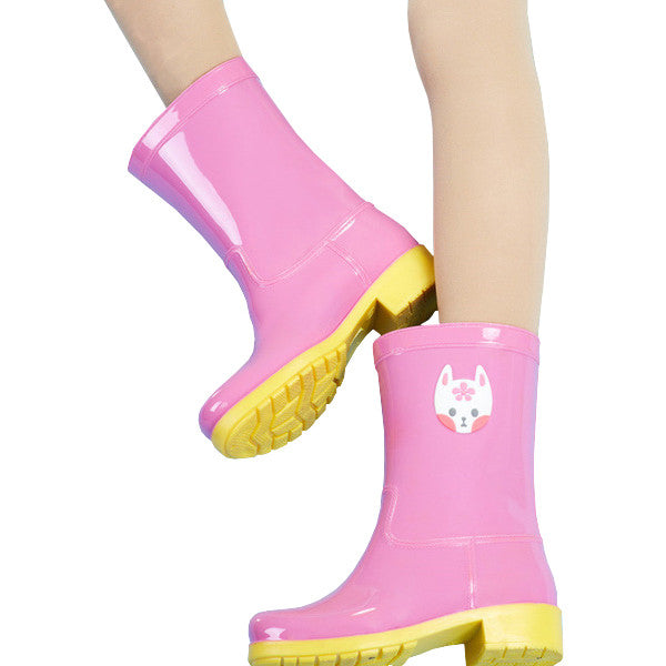 Kitty Rainboots