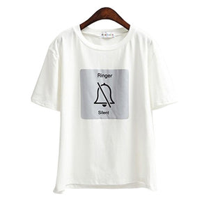 Ringer Silent Tee (2 Colors)