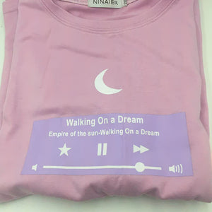 Walking On A Dream Tee (2 Colors)