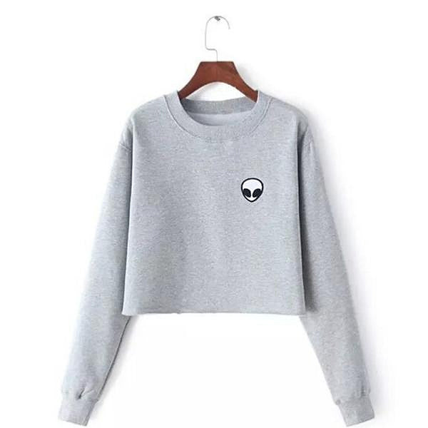 Alien Sweatshirt (2 Colors)