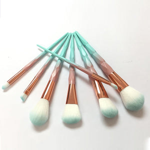 Aqua Gradient 7 Brush Set