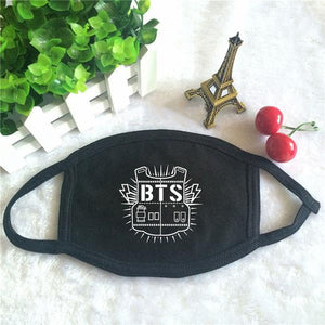 BTS Logo Facemask (2 Colors)