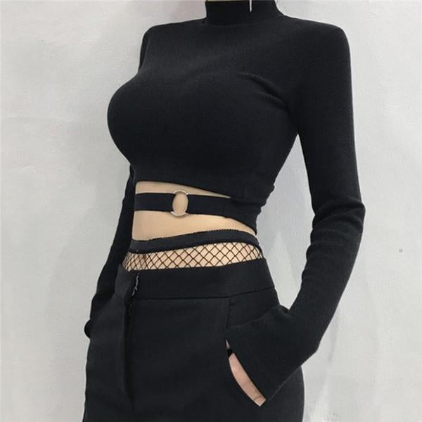 Buckle Crop Top