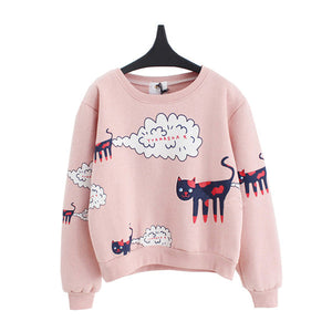 Poof Cat Sweater