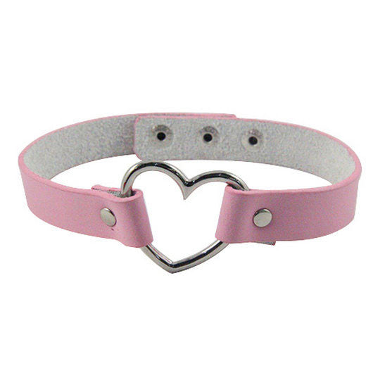 Heart Chokers (5 Colors)