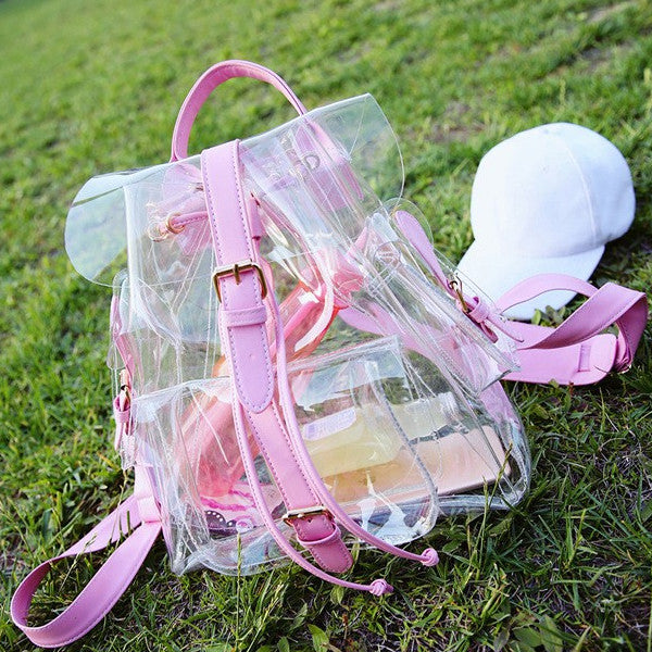 Transparent Candy Backpack