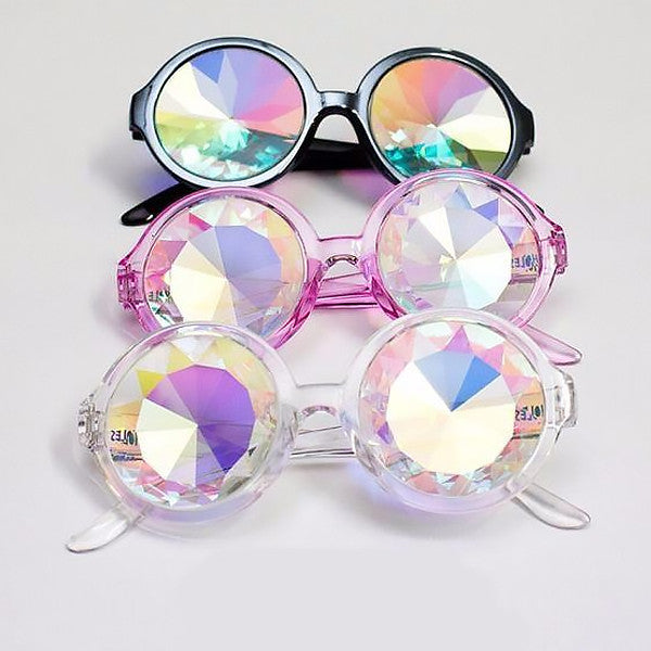 Kaleidoscope Glasses (3 Colors)