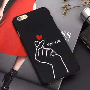 Korean Heart iPhone Case