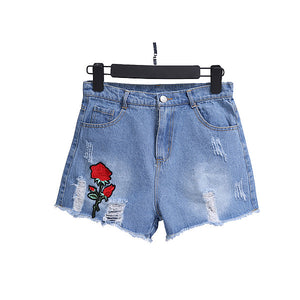 Falling Rose Shorts (2 Colors)