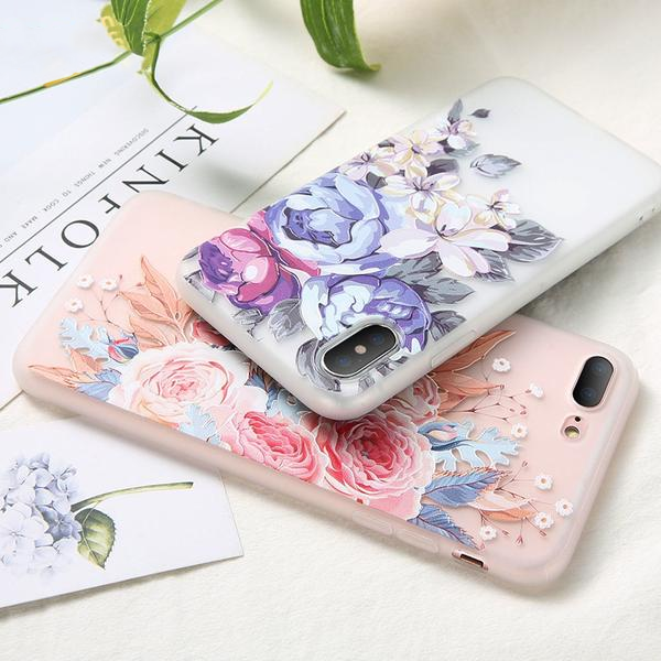 flowery iphone 7 case