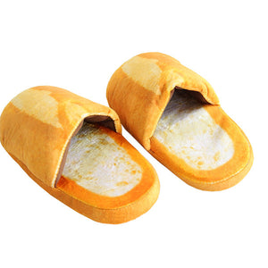 French Bread Slippers
