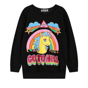 Go To Hell Sweater (2 Colors)