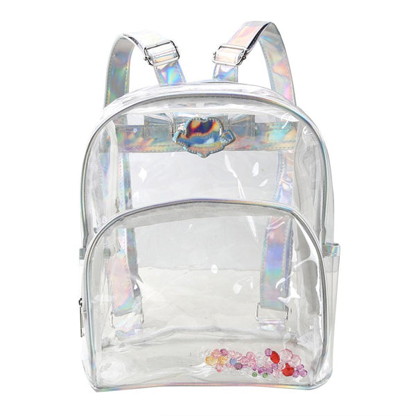 Clear Harajuku Backpack